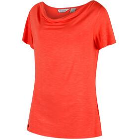 Regatta Francheska T-Shirt Femme, neon peach